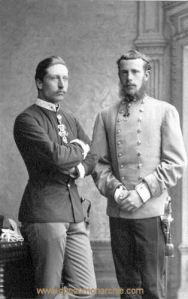 Kronprinzen Wilhelm und Rudolf, 1883