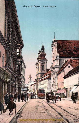 Linz a. d. Donau, Landstraße