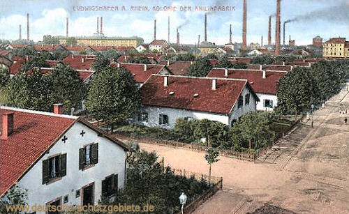 Ludwigshafen, Kolonie der Anilinfabrik