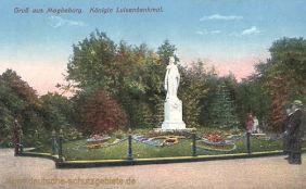 Magdeburg, Königin Luisendenkmal
