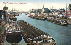 Magdeburg, Werder mit Zollelbe