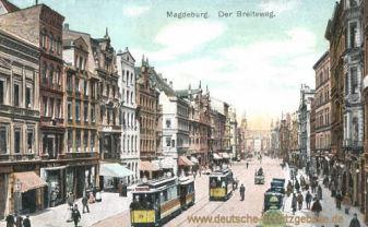 Magdeburg, der Breiteweg