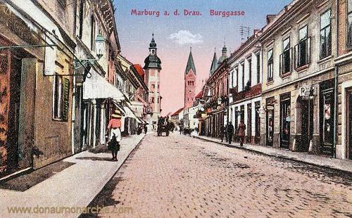 Marburg a. d. Drau, Burggasse