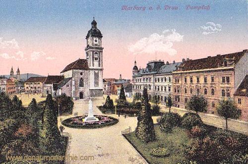 Marburg a. d. Drau, Domplatz