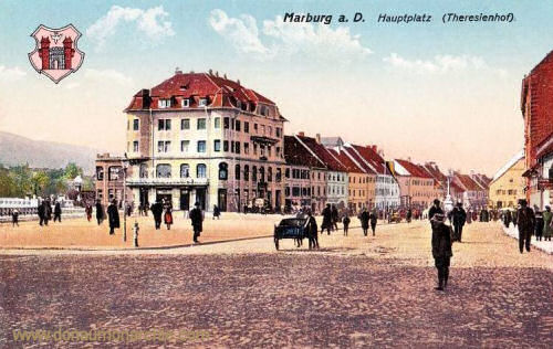 Marburg a. d. Drau, Hauptplatz (Theresienhof)