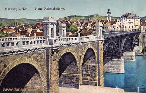 Marburg a. d. Drau, Neue Reichsbrücke
