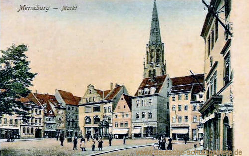 Merseburg, Markt