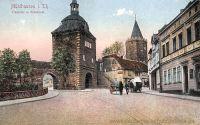 Mühlhausen i. Thür., Frauentor und Rabenturm