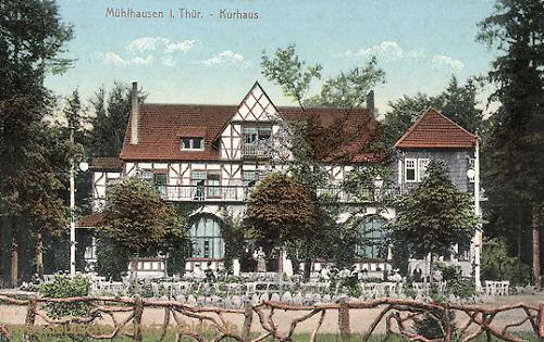 Mühlhausen i. Thür., Kurhaus