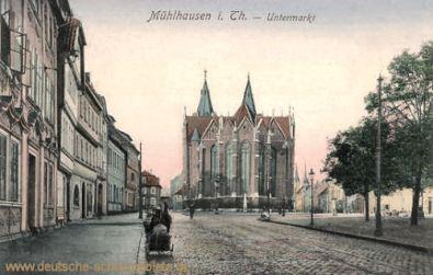 Mühlhausen i. Thür., Untermarkt