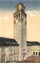 Mülheim an der Ruhr, Neues Rathaus Turmpartie