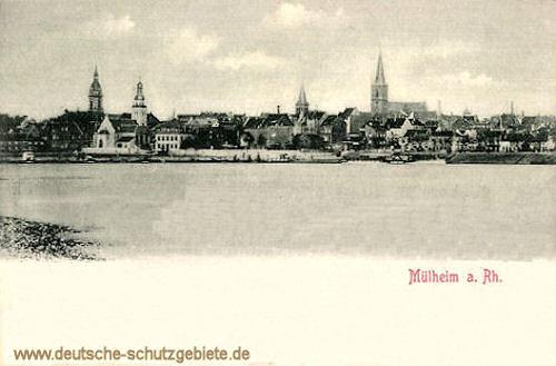Mülheim am Rhein, Stadtansicht