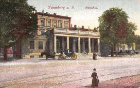 Naumburg, Bahnhof