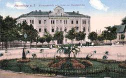 Naumburg, Bismarckplatz mit Hotel zur Reichskrone