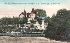 Naumburg, Cafe und Restaurant Waldschloss, A. Petraschk