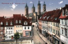 Naumburg, Steinweg und Dom