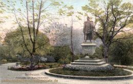Nordhausen, Promenade mit Bismarckdenkmal