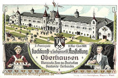 Oberhausen, Kochkunst und fachgewerbliche Ausstellung 1909