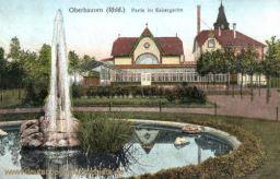 Oberhausen, Partie im Kaisergarten
