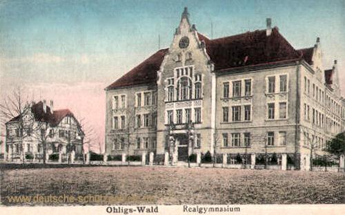 Ohligs-Wald, Realgymnasium