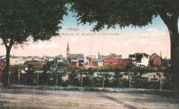 Ohligs, Blick auf die Südstadt von der Kölnerstraße