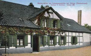 Ohligs, Restauration zur Schwanenmühle