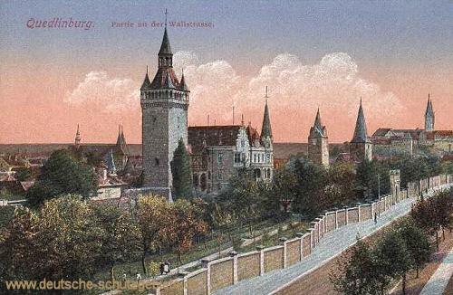 Quedlinburg, Wallstraße