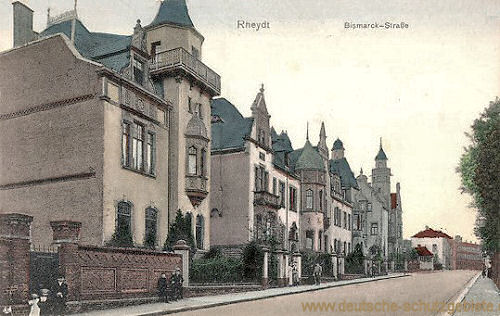 Rheydt, Bismarck-Straße