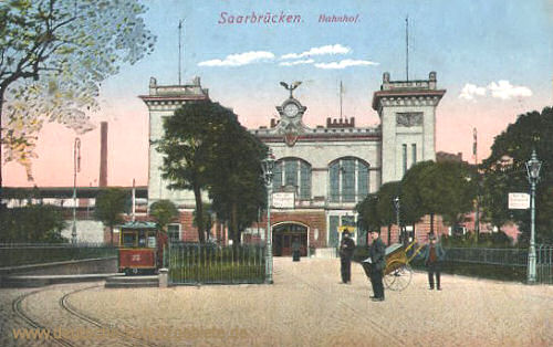 Saarbrücken, Bahnhof
