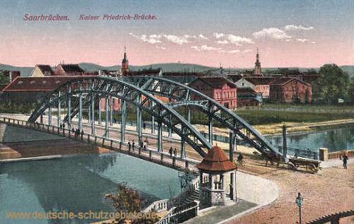 Saarbrücken, Kaiser Friedrich-Brücke