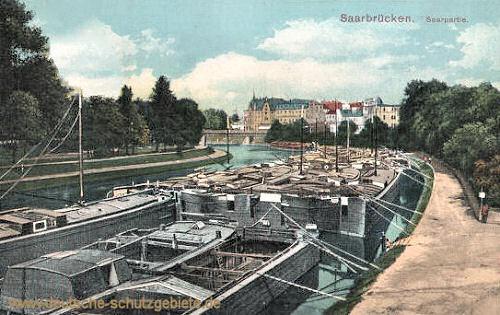 Saarbrücken, Saarpartie