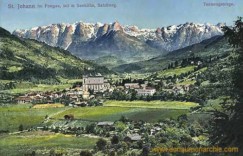Sankt Johann im Pongau, 563 m Seehöhe, Salzburg