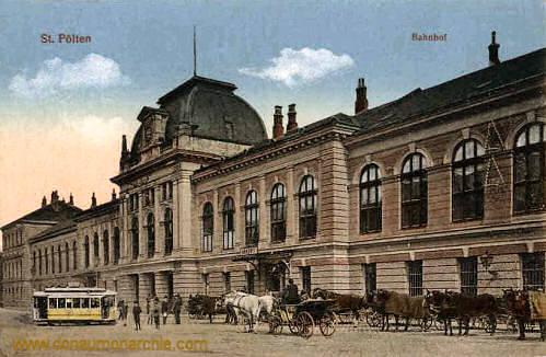 St. Pölten, Bahnhof