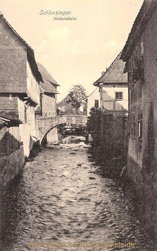 Schleusingen, Nahebrücke