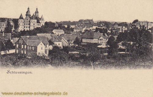 Schleusingen, Stadtansicht