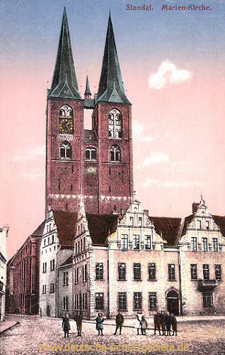 Stendal, Marien-Kirche