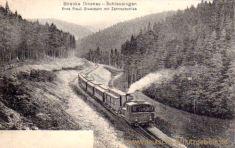 Strecke Ilmenau Schleusingen - Erste Preußische Staatsbahn mit Zahnradbetrieb