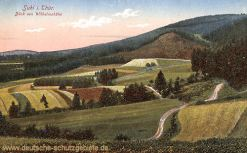 Suhl i. Thür., Blick vom Wilhelmshöhe