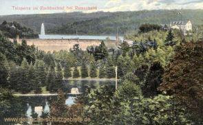 Talsperre im Eschbachtal bei Remscheid