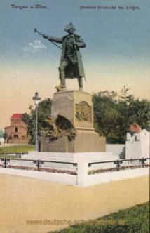 Torgau, Denkmal Friedrichs des Großen
