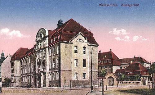 Weißenfels, Amtsgericht