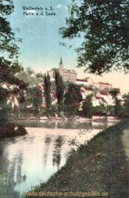 Weißenfels, Partie an der Saale