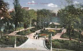 Weißenfels, Stadtgarten
