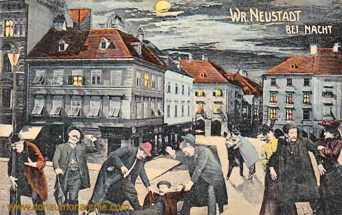 Wiener-Neustadt bei Nacht