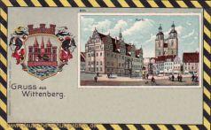 Wittenberg, Markt und Wappen