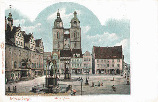 Wittenberg, Marktplatz