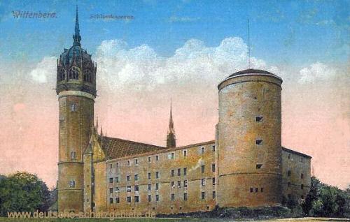 Wittenberg, Schlosskaserne