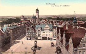 Wittenberg vom Turme der Stadtkirche