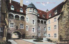 Zeitz, Rathaus. Innerer Hof