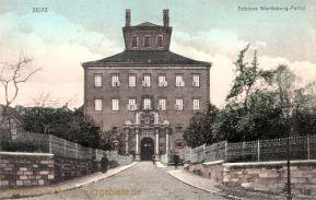Zeitz, Schloss Moritzburg, Portal